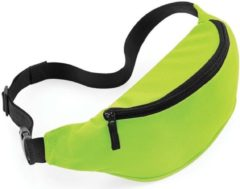 Merkloos / Sans marque Heuptasje/fanny pack limegroen 38 x 14 x 8 cm festival musthave
