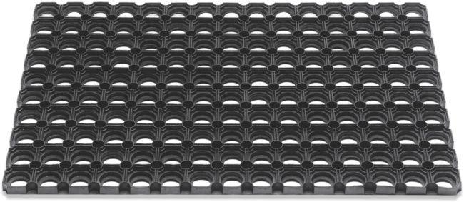 Afbeelding van Zwarte Hamat Domino Rubberringsmat 50x80cm 23mm