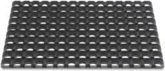 Zwarte Hamat Domino Rubberringsmat 50x80cm 23mm