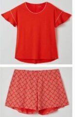 Lords & Lilies pyjama dames - rood - 211-5-LPA-Z/433 - maat S