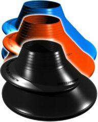 Zwarte Siliconen Nekseal Waterproof