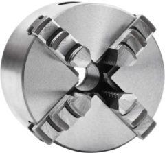 VidaXL Klauwplaat met 4 bekken zelfcentrerend 80 mm staal