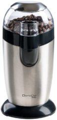 Domoclip DOD116 Molen met messen 120W Zwart, Roestvrijstaal koffiemolen