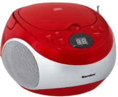 Karcher Boombox RR 5020, rot rot/silber