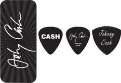 Zwarte Dunlop Johnny Cash Pick Tin signature plectrum