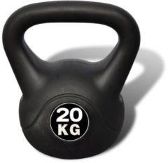 Zwarte VidaXL Kettlebell 20 kg