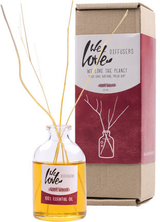 Afbeelding van Witte OWNcandles.nl We Love The Planet Diffuser 50ml warm winter