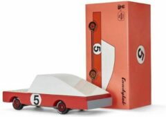 Rode Candylab Toys Candycars - Houten Design Speelgoedauto - Red Racer #5