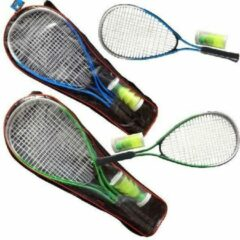 SportX Power Badminton Set Blauw