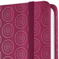 Sigel SI-JN307 Notitieboek Jolie Beauty A5 Hardcover Gelinieerd Rood