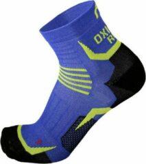 Mico OXI-JET compression short socks blauw maat S