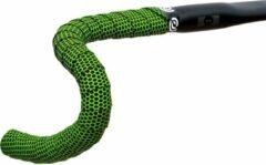 Bikeribbon Stuurlint Silicon Hexagon Groen