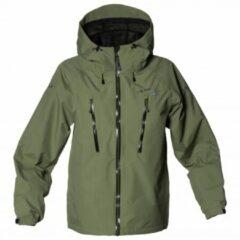 Isbjörn - Kid´s Monsune Hard Shell Jacket - Hardshelljack maat 158/164 olijfgroen