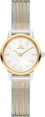 Danish Design watches edelstalen dameshorloge Akilia Mini Two-Tone Gold IV65Q1268