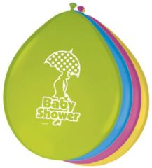 Folat Baby shower ballonnen 8 stuks