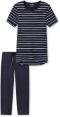 Donkerblauwe Schiesser pyjama lange broek D 161067-804