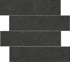 Jabo Belgium Pierre wandtegel black 15x60 gerectificeerd