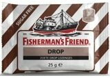 Fishermans Friend Drop Zoete Drop Lozenges Suikervrij Bruin/Wit