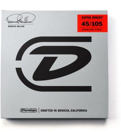 Afbeelding van Dunlop 4er Bass 45-105 Miller Super Bright