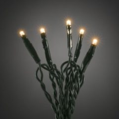Konstsmide 6354 - Snoerverlichting - 100 lamps micro LED - 693cm - 24V - voor binnen - extra warmwit
