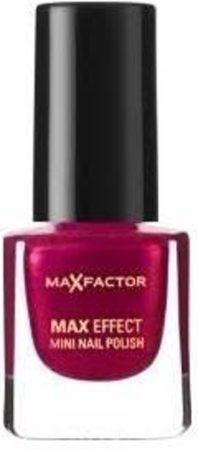 Afbeelding van Zwarte Max Factor Nagellak Max Effect Mini 12