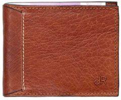 DR Amsterdam Waxi Billfold 8CC chestnut Heren portemonnee