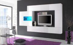 LC TV-Media-Wand, Breite 272 cm (4-tlg)