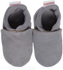 Grijze BabySteps slofjes Plain Grey maat 20/21