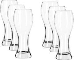 Royal Leerdam 12x Speciaal bierglazen transparant 650 ml Specials - Weizen bierglas