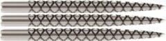 Zilveren Target Steel Dart Grip Points Laser Silver - 32mm