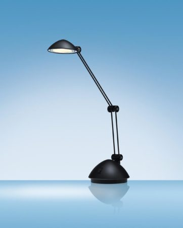 Afbeelding van Hansa bureaulamp Space, LED-lamp, zwart