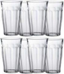 Transparante Duralex 12x Longdrinkglazen 500 ml - 50 cl - Longdrink glazen - Water/sap/koffie/thee pglazen - Longdrink glazen van glas