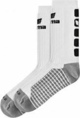 Erima Classic 5-Cubes Sok - Wit / Zwart - maat 39-42