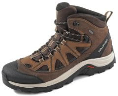 Salomon Authentic LTR GTX Men Herren Wanderschuh Größe UK 9 black coffee/chocolate brown