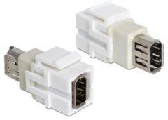 Quality4All Keystone-Modul FireWire 6-Pin-Buchse DeLOCK > FireWire 6-Pin-Buchse