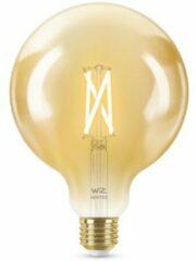 WiZ Globe Filament Slimme LED Verlichting - Warm- tot Koelwit Licht - E27 - 50W - diameter 125 mm - Goud - Wi-Fi