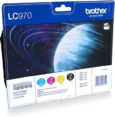 Brother LC-970VALBP - Inktcartridge / Zwart / Magenta / Geel / Cyaan
