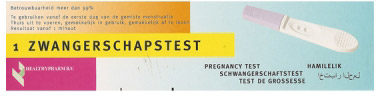 Afbeelding van HTP Healthypharm Zwangerschapstest - 1 stuk