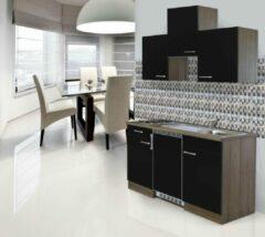 Respekta ® keukens Kleine keuken Meister New York 150cm zwart