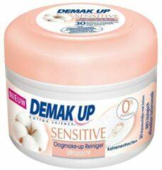 Demak Up Pads met lotion oogmake up reiniger senstive 30st