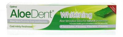 Afbeelding van Optima Aloe dent aloe vera tandpasta whitening 100 Milliliter