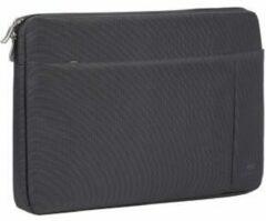 Zwarte Riva Case Rivacase Central Laptop Sleeve 13.3 inch Black
