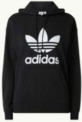 Zwarte Adidas Hoodie met logoprint