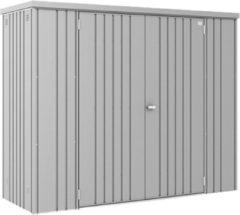 Biohort Tuinkast GR230 zilvergrijs Metalic 2 deurs - 227x83x182,5cm