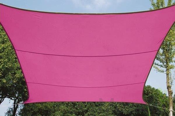 Afbeelding van Roze Velleman SCHADUWDOEK - ZONNEZEIL - VIERKANT 5 x 5 m, kleur: fuchsia