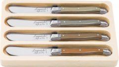 Laguiole Style de Vie Botermessen Premium Line - 4-delig - Treasure