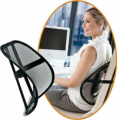 Zwarte Universeeel Ergonomische Rugsteun, rugondersteuning voor stoel