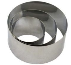Grijze BrandNewCake Lares 6022 Metallic koekvormpje