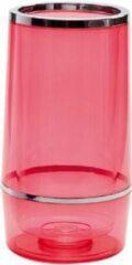 Rode Doorzichtig Flessenrek (75cl) 143833