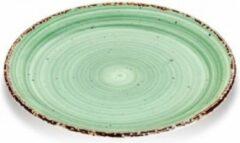 Gural Ent color Set 6 Bord 27cm Groen 616979